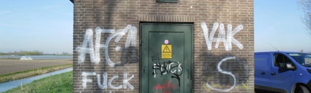 Graffiti verwijderen - DCS De Vrieze Cleaning Solutions